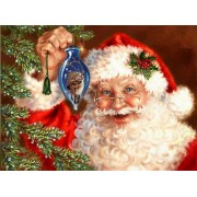 5D DIY Diamond Painting Christmas Santa Claus Cross Stitch Full Arou Drill 5D Diamond Painting kit S..