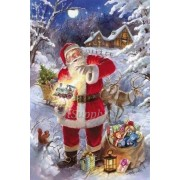 5D DIY Diamond painting Christmas Santa Claus Mosaic Cross Stitch Full Round Drill 5D Diamond Painti..