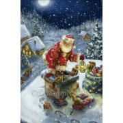 5D DIY Diamond painting Christmas Santa Claus Mosaic Cross Stitch Diamond Painting kit Home Sticker ..