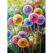5D DIY Full Drill Diamond Painting Dandelion Cross Stitch Embroidery Mosaic..