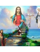 5D Diamond Embroidery Religion Jesus cross 5D DIY Diamond Painting Cross Stitch Mosaic Needlework Handicrafts