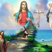 5D Diamond Embroidery Religion Jesus cross 5D DIY Diamond Painting Cross Stitch Mosaic Needlework Ha..