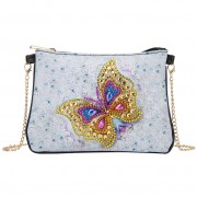 Cheap DIY Bag Chain Crossbody Purses Women Bag Diamond Bag Gold Butterfly..