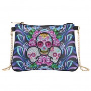 Cheap DIY Bag Women Diamond Purse Diamond Corssbody Bag Women Bag Skull..