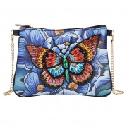 Cheap DIY Chain Handbag Diamond Purses Women Bag Phone Bag Color Butterfly..