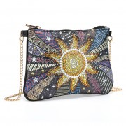 Cheap DIY Chain Purses Women Bag Diamond Bag Sun Flower..