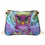 Cheap DIY Diamond Designer Purses Crossbody Purse Pink Owl..