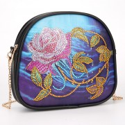 Cheap DIY Diamond Mini Purse Diamond Purse Phone Bag Women Bag Water Rose..