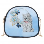 Cheap DIY Diamond Purse Diamond Corssbody Bag Diamond Phone Bag Women Bag Cat..