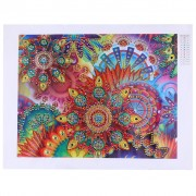 Diy 5d Diamond Painting Cheap Diamond Painting Home Decoration Color Mandala 15.75x19.69 Inch