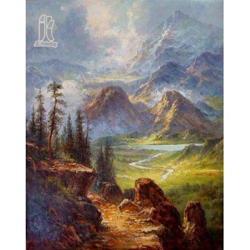 Diy Diamond Embroidery A Walk In The Woods by Petersen Edvard Frederik Diamond Painting Rhinestone Painting Cross Stitch Needlework Home Decoration