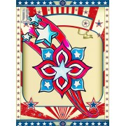 Diy Diamond Embroidery American Star Flower Diamond Painting Rhinestone Painting Cross Stitch Needle..