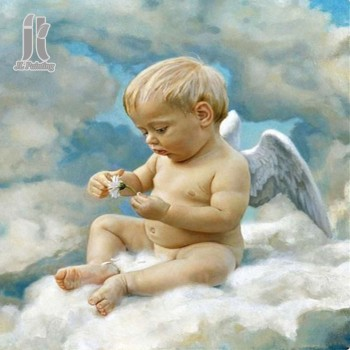 Diy Diamond Embroidery Angel in the Cloud Diamond Painting Rhinestone Painting Cross Stitch Needlework Home Decoration
