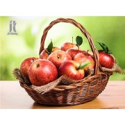 Diy Diamond Embroidery Apple Basket Diamond Painting Rhinestone Painting Cross Stitch Needlework Hom..