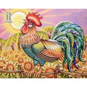 Diy Diamond Embroidery Big Cock Diamond Painting Rhinestone Painting Cross Stitch Needlework Home Decoration