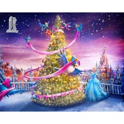 Diy Diamond Embroidery Christmas Tree Diamond Painting Rhinestone Painting Cross Stitch Needlework H..
