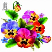 Diy Diamond Embroidery Colorful Flowers Diamond Painting Rhinestone Painting Cross Stitch Needlework..