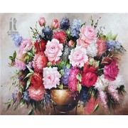 Diy Diamond Embroidery Colorful Peony Diamond Painting Rhinestone Painting Cross Stitch Needlework H..