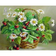 Diy Diamond Embroidery Flower Baskets Diamond Painting Rhinestone Painting Cross Stitch Needlework H..