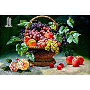 Diy Diamond Embroidery Fruit Basket Diamond Painting Rhinestone Painting Cross Stitch Needlework Hom..