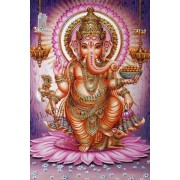 Diy Diamond Embroidery Ganesha Elephant Diamond Painting Rhinestone Painting Cross Stitch Needlework..