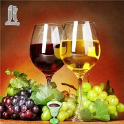 Diy Diamond Embroidery Grape and Wine Diamond Painting Rhinestone Painting Cross Stitch Needlework H..
