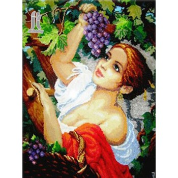 Diy Diamond Embroidery Grapes Beauty Diamond Painting Rhinestone Painting Cross Stitch Needlework Home Decoration
