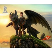 Diy Diamond Embroidery How to Train Your Dragon Diamond Painting Rhinestone Painting Cross Stitch Ne..