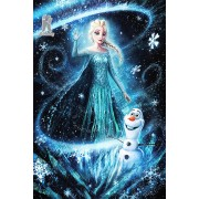 Diy Diamond Embroidery Ice Princess Diamond Painting Rhinestone Painting Cross Stitch Needlework Hom..