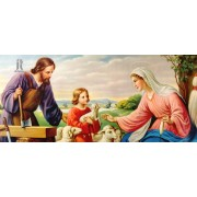 Diy Diamond Embroidery Jesus Family Diamond Painting Rhinestone Painting Cross Stitch Needlework Hom..