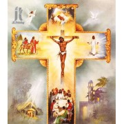 Diy Diamond Embroidery Jesus On The Cross Diamond Painting Rhinestone Painting Cross Stitch Needlewo..