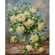 Diy Diamond Embroidery Peony Flowers Diamond Painting Rhinestone Painting Cross Stitch Needlework Ho..