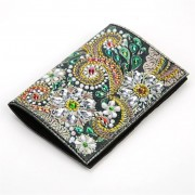 Passport Holder With Diy Diamond Painting Cover Christmas Gifts Special Shaped Diamond Painting Para..