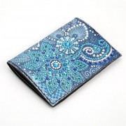 Passport Holder With Diy Diamond Painting Cover Christmas Gifts Special Shaped Diamond Painting Ligh..