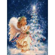 5D DIY Diamond painting Christmas Tree & Fairy Mosaic Cross Stitch Full Round Drill 5D Diamond Paint..