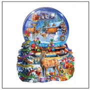 5D round diy hand made diamond embroidery mosaic painting kits wall cross sticker Cartoon animals pi..