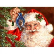 Diy Diamond Embroidery Santa Claus Is Coming Diamond Painting Rhinestone Painting Cross Stitch Needl..