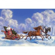 Diy Diamond Embroidery Santa Claus Merry Christmas Diamond Painting Rhinestone Painting Cross Stitch..