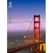 Diy Diamond Embroidery Golden Gate Bridge Diamond Painting Rhinestone Painting Cross Stitch Needlewo..