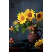 Diy Diamond Embroidery Sunshine Sunflower Diamond Painting Rhinestone Painting Cross Stitch Needlewo..