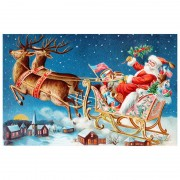 Diy Diamond Embroidery Santa Claus Christmas Day Diamond Painting Rhinestone Painting Cross Stitch N..